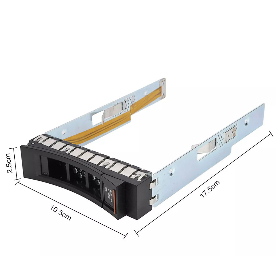 Genuine IBM 3.5 Server HDD Hard Drive Caddy 21R9382